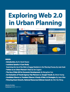 Exploring Web 2.0 in Urban Planning